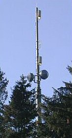Tetrapol mast, Switzerland